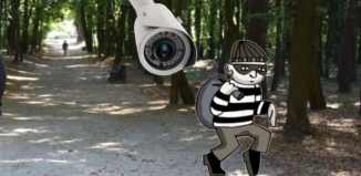 Kradzież kamer w parku miejskim