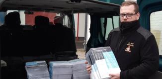 Strażacy z KP PSP we Wschowie w akcji