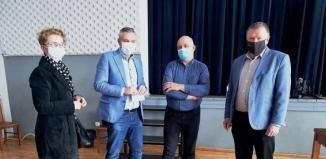 Punkt powszechnych szczepień w Garzynie rozpoczął funkcjonowanie