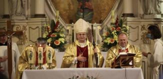 Msza Święta Dożynkowa z udziałem Biskupa Lityńskiego