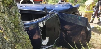 Wypadek drogowy w Radzyniu [FOTO]