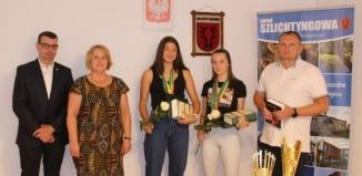 Sukcesy sportowe reprezentantek Szlichtyngowy