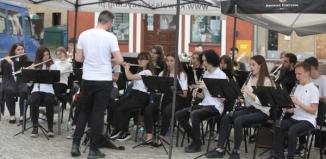 Młodzieżowa Orkiestra Dęta CKiR zagrała dla Marysi [ZDJĘCIA]