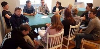 Uczniowie z Niemiec w Rydzynie