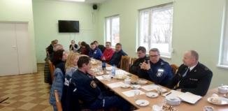 Szef wschowskiej policji docenił pracę Ratownictwa Wodnego Sława