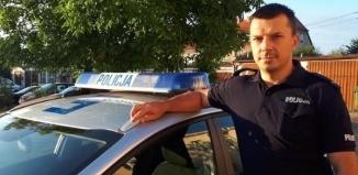 Policjant wracając ze służby ujawnił skradzionego Opla. W pojeździe zmieniono tablice