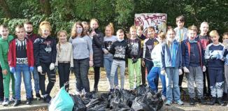Uczniowie SP1 w akcji Sprzątanie Świata [ZDJĘCIA]