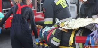 Tym razem to tylko ćwiczenia - pozorowane działania ratownicze w Szlichtyngowej
