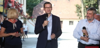 Premier Mateusz Morawiecki we Wschowie