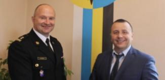 Nowy Komendant Powiatowy Państwowej Straży Pożarnej