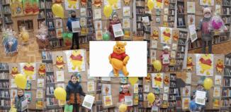 Biblioteka Publiczna w Szlichtyngowej zorganizowała konkurs plastyczny pt. Kubuś Puchatek