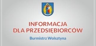 Wsparcie dla wolsztyńskich przedsiębiorców