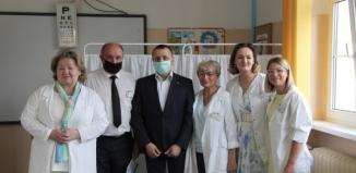 Starosta Wschowski wizytował kwalifikację wojskową [VIDEO]