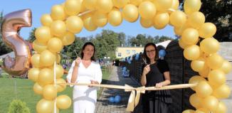Nowy obiekt sportowo-rekreacyjny w Złotej Rybce u Dula