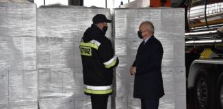 160 tys. maseczek dla mieszkańców powiatu wschowskiego