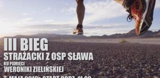 Trwają zapisy na III Bieg Strażacki z OSP Sława