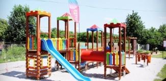 Nowy plac zabaw w Glince