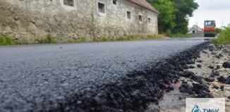 Nowy asfalt w Krążkowie [ZDJĘCIA]