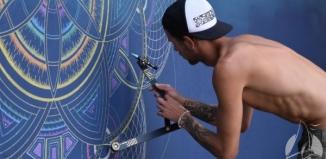 Na ośrodku SCKiW powstaje mural