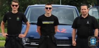 OSP ze Wschowy odebrała nowy samochód