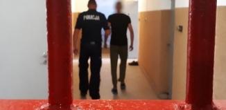 Skryty w zbożu został zatrzymany przez policjantów