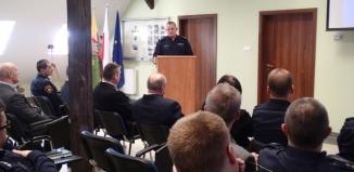 Podsumowano pracę wschowskiej policji. Wśród gości Komendant Wojewódzki