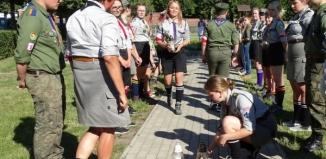 Harcerze uczcili rocznicę Powstania Warszawskiego