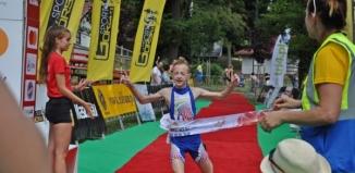 Najmłodsi próbowali sił w sławskim triathlonie