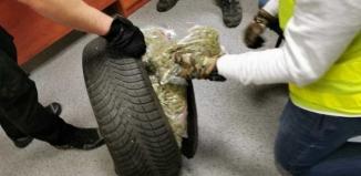 Koło pełne narkotyków