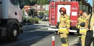 Strażacy ze Wschowy pomogli dziewczynie w Sławie.
