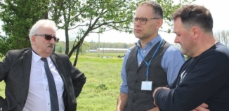 Burmistrz Antkowiak wizytowałwsie sołeckie [FOTO]