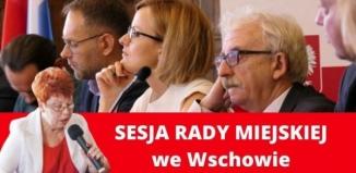XIV Sesja Rady Miejskiej we Wschowie