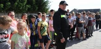 OSP Konradowo z wizytą w szkole