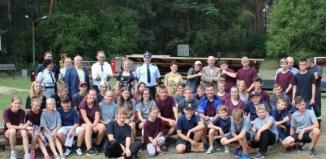 Obóz w Lginiu dla Młodzieżowych Drużyn Pożarniczych