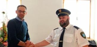 Nowy Strażnik Miejski złożył uroczyste ślubowanie