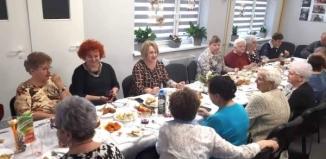 Spotkanie wigilijne w Klubie Senior+