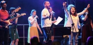 Koncert zespołu NiemaGOtu w ogrodach klasztornych - VIDEO