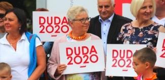Wiec poparcia dla Andrzeja Dudy w Szlichtyngowej [RELACJA]