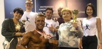 Wicemistrz Polski federacji IFBB