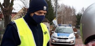 Pijany motocyklista uciekał przed policjantami