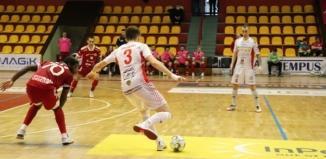 Grad bramek w pierwszym sparingu GI Malepszy Futsal Leszno