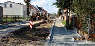 Remont ulicy Ogrodowej w Szlichtyngowej [ZDJĘCIA]