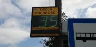 Uwaga, pomiar prędkości w mieście
