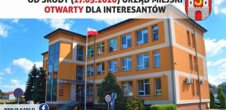 Urząd Miejski w Sławie znosi część obostrzeń