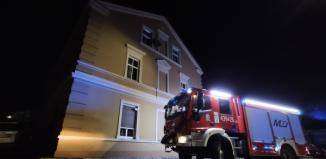 Pożar kamienicy na ul. Wolsztyńskiej. Zobacz nagranie z akcji
